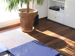 Massivdiele Holzdielen Black Walnut
